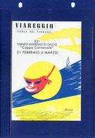 ##(ANT11)-2000-  52° Torneo Mondiale Di Calcio-Coppa Carnevale 2000-Viareggio (Lucca)-annullo Speciale - Calcio