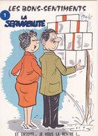 Illustrateur ALEXANDRE  Les Bons Sentiments SERVIABILITE - Alexandre