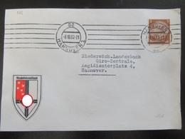 Brief Mit Vignette Reichskolonialbund 1937 - Deutschland