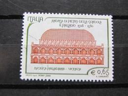 *ITALIA* USATI 2008 - 5° CENTENARIO PALLADIO - SASSONE 3034 - LUSSO/FIOR DI STAMPA - 6. 1946-.. Repubblica