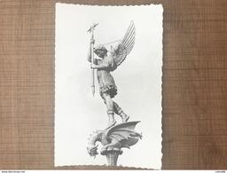Saint Michel Mont Mercure Statue De Saint Michel Surmontant Le Clocher - France