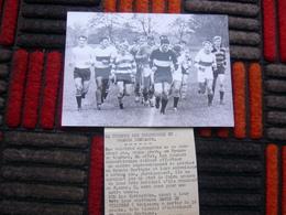 Photo Presse RUGBY SPRINGBOKS 1969 18 X 12 Cm - Rugby