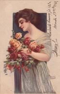 VECCHI-Illustratore-Serie 246-2-Vg Il 1919/20-Integra E Originale100%an2 - Illustratori & Fotografie