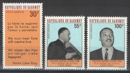 Dahomey - YT PA 75-77 ** - 1968 - Martin Luther King - Bénin – Dahomey (1960-...)