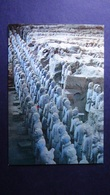 China - Xi'an  - Clay Infantry Men - Look Scans - Chine