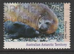 Australian Antarctic Territory 1992 Antarctic Wildlife 75 C Multicoloured SW 91 O Used - 1990-99 Elizabeth II