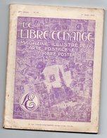 5/ LE LIBRE ECHANGE N°87; 1929 ;cartes Et Timbres Du Monde. - Timbres