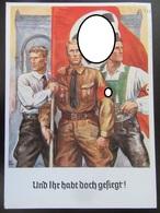 Postkarte Propaganda München 1938 Feldherrnhalle SA 1923 Putsch - Briefe U. Dokumente