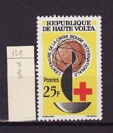Haute Volta - Obervolta - Upper Volta 1963 Y&T N°129 - Michel N°138 * - 25f Croix Rouge - Haute-Volta (1958-1984)