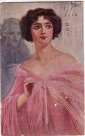 VECCHI-Illustratore-Serie 850-1-223 Regg-5° Compagnia-Vg Il 1917-Integra E Originale100%an2 - Illustratori & Fotografie