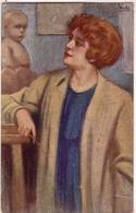 VECCHI-Illustratore-Serie 850-5-223 Regg-5° Compagnia-Vg Il 1917-Integra E Originale100%an2 - Other Illustrators
