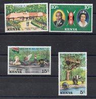 KENYA  Timbres Neufs ** De 1977  ( Ref 6109 ) Visite De La Reine Elisabeth II - Kenya (1963-...)