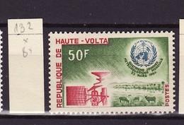 Haute Volta - Obervolta - Upper Volta 1964 Y&T N°132 - Michel N°145 * - 50f Journée De La Météorologie - Haute-Volta (1958-1984)
