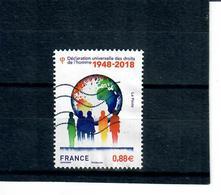 1-france 2018 Declaration Universelle Des Droits De L'homme - France