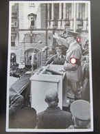 Postkarte Propaganda - Hitler In Wien - Anschluss 1938 - Briefe U. Dokumente