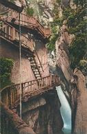 Les Gorges Du Triège - Ligne Martigny Chamonix        Ca. 1920 - VS Wallis
