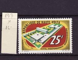 Haute Volta - Obervolta - Upper Volta 1964 Y&T N°137 - Michel N°156 * - 25f Hôtel Indépendance à Ouagadougou - Haute-Volta (1958-1984)