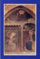 Arezzo - Santino ANNUNCIAZIONE (Spinello Aretino) Chiesa Della SS. Annunziata (sec. XVI) - P90 - Religione & Esoterismo