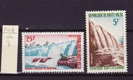 Haute Volta - Obervolta - Upper Volta 1965 Y&T N°141 à 142 - Michel N°162 à 163 *** - Chutes De Banfora - Haute-Volta (1958-1984)
