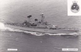 HMS   ANDROMEDA - Warships