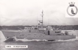 HMS  KINGFISHER - Warships