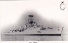 HMS GURKHA - Warships