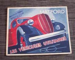 Publicité Camion MATFORD - Camions