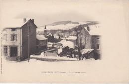 Dunieres   12 Fevrier  1901 Et Pont Avec Train  2 Cartes - France