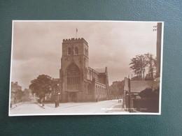 CPA ROYAUME UNI SHREWSBURY THE ABBEY CHURCH - Shropshire