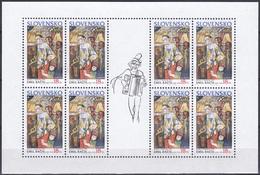 Slowakei Slovakia Slovensko 2002 Organisationen Postwesen Europa CEPT Zirkus Circus Clowns Trompeten, Mi. 424 ** - Slowakische Republik