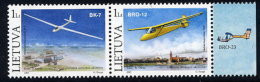 LITHUANIA 2003 Gliders Pair MNH / **.  Michel 833-34 - Lithuania