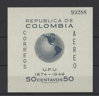 COLOMBIE. YT   Bloc N° 5  Neuf **  1950 - Colombie