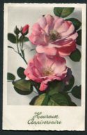 11331  Carte Postale Anniversaire : Roses - Anniversaire