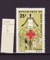 Haute Volta - Obervolta - Upper Volta 1966 Y&T N°159 - Michel N°189 * - 25f Croix Rouge - Haute-Volta (1958-1984)