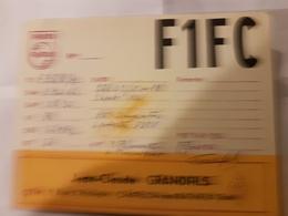 CARTE QSL RADIO AMATEUR FRANCE 92 CHATILLON SOUS BAGNEUX 1964 - Radio Amateur