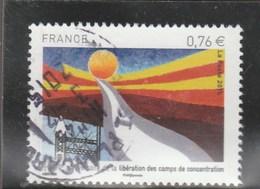 FRANCE 70E ANNIVERSAIRE LIBERATION DES CAMPS DE CONCENTRATION OBLITERE 2015 YT 4948 - - France