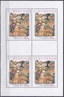 Slowakei Slovakia Slovensko 2002 Kunst Arts Kultur Culture Gemälde Paintings Altar Leutschau Sokol Atelier, Mi. 441-2 ** - Unused Stamps