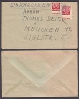 CHILDREN Post Office KINDER POST - Cover Letter / GERMANY 1950's - HORN - Post