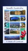 Australia - South Australia - A State Of Contrast - Mehrbildkarte - Look Scans - Australien
