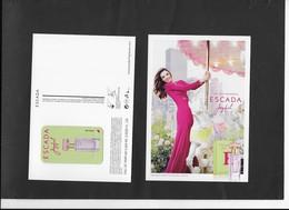ESCADA - Perfume Cards