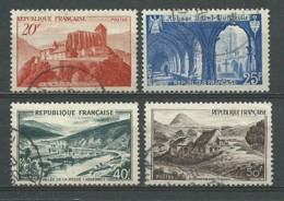 FRANCE: Obl., N°YT 841 à 843, TB - Gebraucht