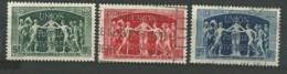 FRANCE: Obl., N°YT 850 à 852, Série, TB - Gebraucht