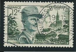 FRANCE: Obl., N°YT 984, TB - Used Stamps