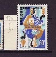 Haute Volta - Obervolta - Upper Volta 1967 Y&T N°178 - Michel N°211 * - 60f Europafrique - Haute-Volta (1958-1984)
