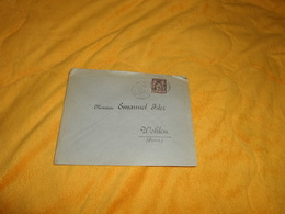 ENVELOPPE UNIQUEMENT DE 1889.../ DEPART ?...POUR WOHLEN SUISSE...CACHETS + TIMBRE - Marcophilie (Lettres)