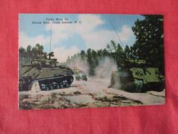 US Marine Base----- Camp Lejeune---- Tanks Move Up     North Carolina > Ref 3169 - Militaria