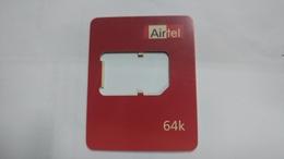 India-air Tel G.s.m Card-(51)-()-(new Delhi)-()-(look Out Side)-used Card+1 Card Prepiad Free - India