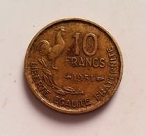 FRANCE - 10 FRANCS 1951 - TYPE GUIRAUD (B8-01) - France