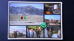 Afghanistan - Mehrbildkarte - ISAF NATO-Einsatz - Bundeswehr Feldpost - Look Scans - Afghanistan