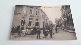 *PHILIPPEVILLE  Rue Du Moulin Hôtel Du Lion D'Or  Belle Animation Oblitérée En 1912 - Philippeville